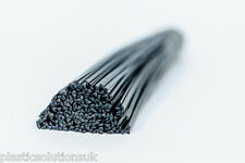 PA 6.6 Plastic welding rods (4mm) black, pack of 20 pcs /triangular shape/