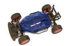 Shroud Cover for Traxxas LCG Chassis Models by Dusty Motors BLUE COLOR