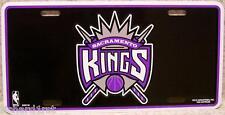 NBA Aluminum License Plate Sacramento Kings NEW