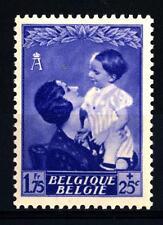 BELGIUM - BELGIO - 1937 - Regina Astrid e Principe Baldovino