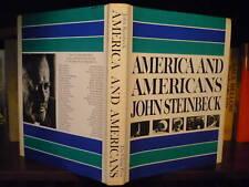 John Steinbeck America and Americans DJ 1966 Photography Ansel Adams Eisenstaedt