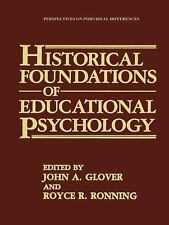 Historical Foundations of Educational Psychology (Perspectives on Indi-ExLibrary