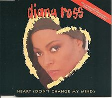 DIANA ROSS HEART (DON'T CHANGE MY MIND) + EXPERIENCE + 2 LIVE TRACKS CDS 1993