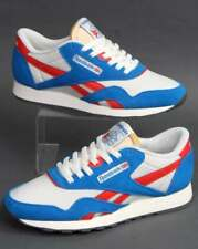 Reebok Classic Trainer in Blue, White & Red - retro 80s 90s shoes