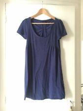 Robe Maje coton bleu 1