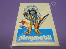 Playmobil Indianer Aufkleber Sticker (8,5 x 13 cm) (K-1098)