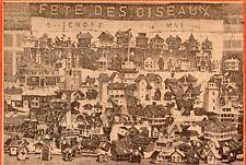 IMAGE 1930 PRINT STE CROIX DE LOTBINIERE FETE OISEAUX MAISON ELEVE LA MENNAIS