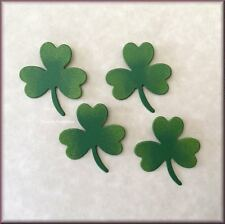 SHAMROCK METAL MAGNETS SET OF 4 BY ROEDA® FREE U.S. SHIPPING
