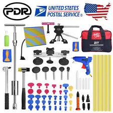 Us 65 Pdr Paintless Dent Removal Puller Lifter Line Board Car Body Repair Kits