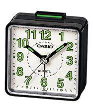 Casio tq140 viajes Cuarzo Beep Reloj Despertador-Negro/blanco Red/black-Original Nueva