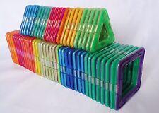 60pcs Magformers Toy 3D Bricks Magnetic Building Blocks Educational squares more