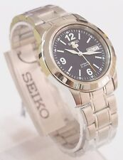 SNKE61K1 SEIKO 5 Stainless Steel Band Automatic Men's Dark Blue Watch New