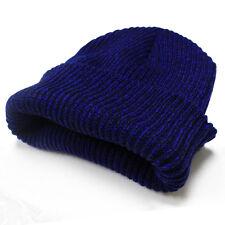 Winter Warm Women Men Beanies Unisex Knitted Ski Crochet Slouchy Hat Cap
