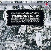 Shostakovich, Symphony No. 10 in E minor Op. 93, , Very Good Import