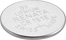 Renata CR1616 LITHIUM BATTERIES SWISS MADE 1 PIECE FREE SHIPPING