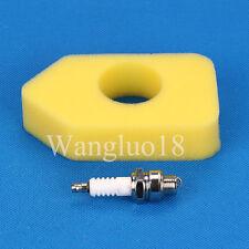 Air Filter Spark Plug F BRIGGS & STRATTON 698369 4216 5088 5099 MTD 490-200-0011
