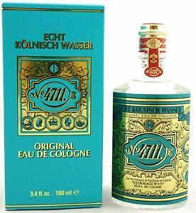 ECHT KOLNISCH WASSER No 4711 ORIGINAL EAU DE COLOGNE SPLASH 3.4 Oz / 100 ml NEW