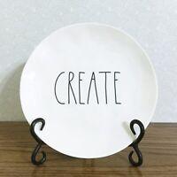 "Rae Dunn Create Dish 8"" Melamine Salad Plate Artisan Collection"