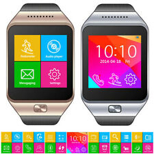 2-in-1 Bluetooth Sync + GSM Wireless Smart Watch Compatible for iOS Android OS