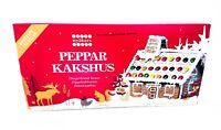 Knusperhäuschen Lebkuchen Haus Advent Weihnachten Pfefferkuchen-Haus Bastelsatz