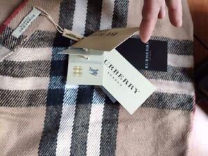 Sciarpa uomo/donna BURBERRY classic check originale