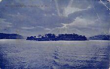 Parkersburg West Virginia 1908 Postcard Blennerhassett Island