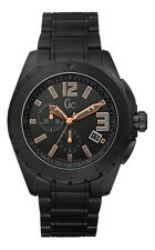 GUESS GC Swiss Sports Class XXL Black Ceramic Mens Watch X76009G2S