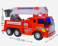 Big-Daddy Fire Truck Engine Toy Car Construction Vehicle Extendable Ladder