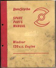 rotoscythe spare part manual