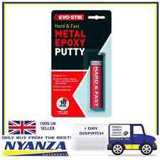 Evo-Stik Hard & Fast Metal Epoxy Putty Steel Quickweld Quicksteel Leak Exhaust