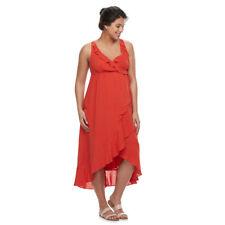 A:Glow Maternity Ruffle Faux Wrap Dress - Size XL - NWT!!!