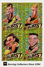 2018 AFL Footy Stars Trading Card Milestones Subset Mg53 M. De Boer (gws)