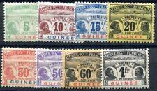 GUINEE PORTO 1906 Yvert TT 8-15 * SATZ ungebraucht 141€(F3670