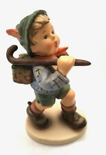 Goebel Hummel Figurine, The Run-a-way, 327, 1972, W. Germany, TMK 5 Trademark