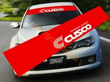 Cusco Sun Strip Visor Windshield banner Decal Sticker for LSD wrx sti gtr s15 86