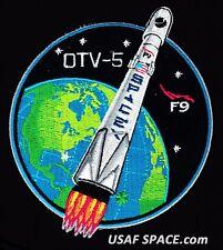 OTV-5 - SPACEX FALCON 9 ORIGINAL - X-37B USAF DOD SPACE PLANE Mission PATCH