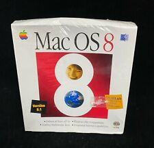 Vintage Mac OS 8 Retail Box Full Set CD-ROM V 8.1 Operating System NEW Sealed