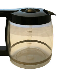 Cuisinart 12-Cup Clear Glass Carafe Pot for Drip Coffee Makers Replacement Part