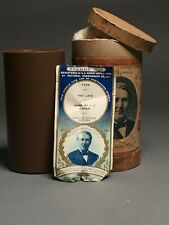 New ListingEdison Brown Wax Cylinder – Uncommon Record; Obt; Ors