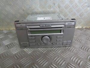 2006 FORD S-MAX 5DR RADIO HEAD UNIT CD PLAYER 6M2T-18C815