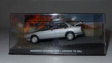 Modellauto 1:43, James Bond 007,Maserati Biturbo 425, LICENCE TO.. Diorama (033)