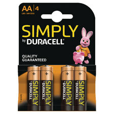 Duracell Simply Battery (Pack of 4) AA 81235210