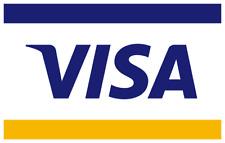 Visa Credit Card in your name or custom, novelty/gift/prank, canceled