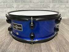 "G4M Blue 14"" x 5.5"" Wooden Shelled 6 Lug Snare Drum / Hardware #SN177"