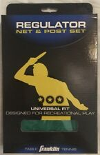 Franklin Sports Table Tennis Net & Post 57302 Sealed Box Ships Priority Free