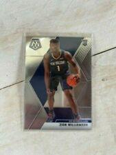 Zion Williamson 2019-2020 Panini Mosaic Base Rookie Card Rc #209 Pelicans 🔥🔥