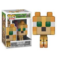 Minecraft Pop! figurine en vinyle - OCELOT TOUT NOUVEAU