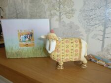 Border Fine Arts Ewe And Me Morag By Toni Goffe Dated 2005 Boxed VGC