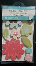 Colorbok Sticky Icon Stax Flowers Sweet 285 Sheets