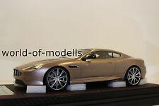 FrontiArt F026-49 Aston Martin DB9 champagne grey 1:18 NEU mit OVP